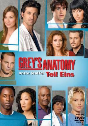Grey\'s Anatomy - 3. Staffel - Teil 1 - Cast & Crew