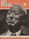 Das Cover vom Spiegel 1952