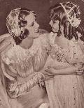 Eleanor Powell schließt Freundschaft mit der kleinen Brautjungefer