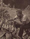 Herbert A.E. Böhme als Robinson Crusoe