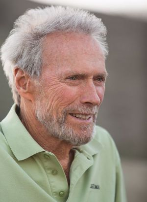 "Clint Eastwood am Set von ""American Sniper"""