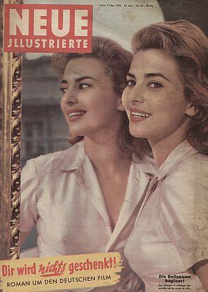 """Cover der Zeitschrift """"Neue Illustrierte"""" am 5. November 1955"""