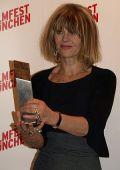 Julie Christie mit dem CineMerit Award 2008 des Filmfests München