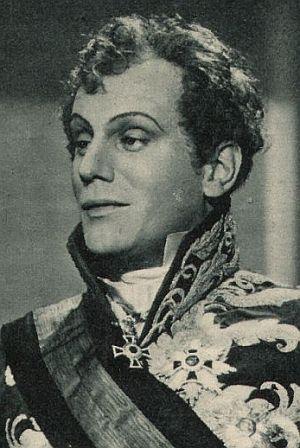 Gustaf Gründgens als Fürst Metternich