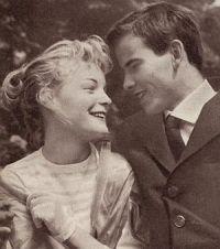 Film und Frau 1957-09 S16 Monpti, Romy Schneider, Horst Buchholz (Retro 1)
