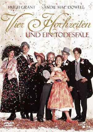 Vier Hochzeiten und ein Todesfall (DVD) 1994