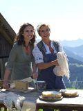 """Alexandra Schiffer und Michaela May beim Dreh zu """"Die Sennerin"""""""