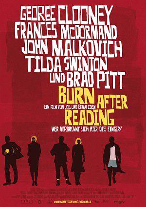 Burn After Reading - Wer verbrennt sich hier die Finger? (Kino) 2008