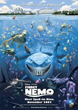 Findet Nemo (Kino) Teaserplakat 2003