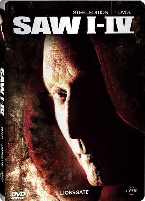 Saw I-IV Steel Edition (DVD)