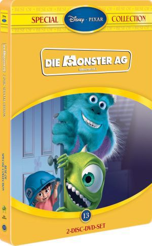 Die Monster AG, Best of Special Collection (DVD) 2001