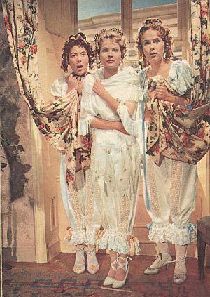 Das Dreimäderlhaus (Szene) 1958