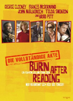 Burn After Reading - Wer verbrennt sich hier die Finger? Deluxe Edition (DVD) 2008