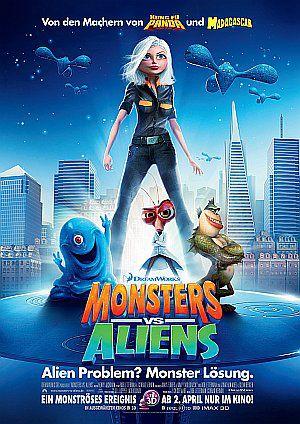 Monsters vs. Aliens (Kino) 2009