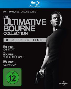 Die ultimative Bourne Collection (Blu ray) 2002-2007
