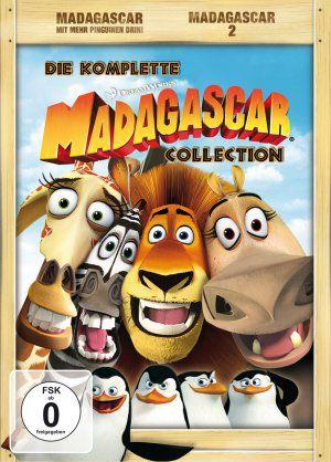 Madagascar 1&2, Special Collector's Edition (DVD) 2005-2008