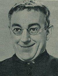 Revue, 9 1958, Nr.3, S. 31, Alec Guinness, Pater Brown (Retro 1)