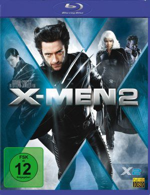 X-Men 2 (Blu ray) 2003