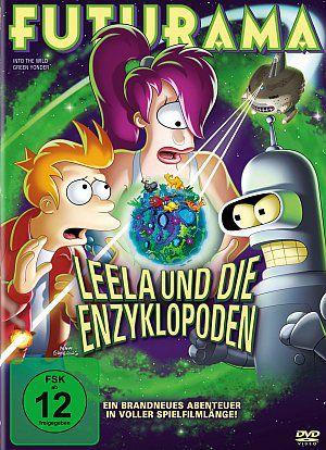 Futurama: Leela und die Enzyklopoden (DVD) 2009