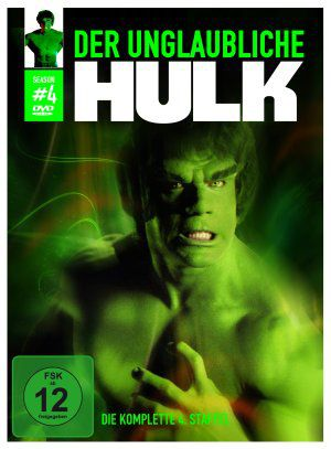 Der unglaubliche Hulk, Staffel 4 (DVD) 1977