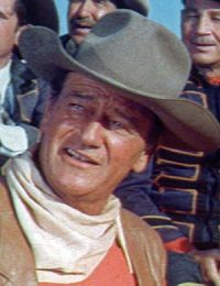 McLintock - Ein liebenswertes Raubein!, John Wayne (Szene) 1963