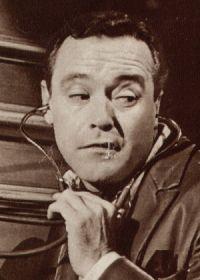 Film-Bühne Nr. S6729,  Ein Ehebett zur Probe, 1963, Titel, Jack Lemmon (Szene 1)