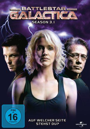 Battlestar Galactica, Season 3.1 (DVD) 2004-