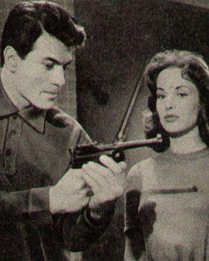 Film Journal, 19.10.1959, Nr.21, S.29, Claude Titre, Pascale Audret, Die Hölle der Jungfrauen (Szene)