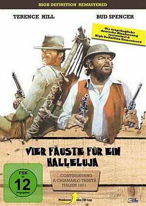 Vier Fäuste für ein Hallelujah (DVD) 1971