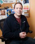 Michael Thurmeier an seinem Arbeitsplatz