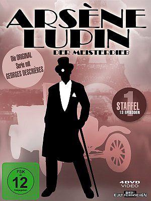 Arsène Lupin - Der Meisterdieb - 1. Staffel (DVD) 1971