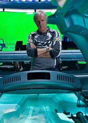 James Cameron am Set von