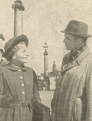 Inge von Wangenheim, Ernst Wilhelm Borchert
