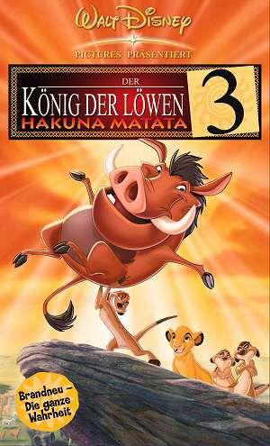 Der König der Löwen 3: Hakuna Matata (VHS) 1998