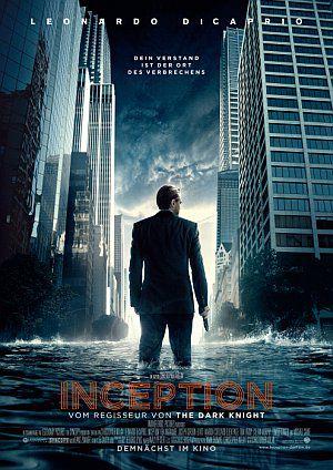 Inception (Kino) Teaserplakat 2010