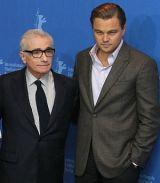 Regisseur Martin Scorsese mit Leonardo DiCaprio (Berlinale 2010)