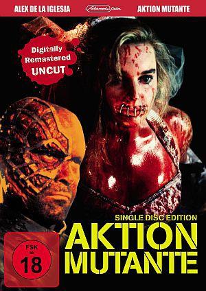 Aktion Mutante (Digitally Remastered Uncut) (DVD) 1993