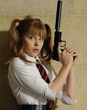 Chloe Moretz, Kick-Ass (Szene 51) 2010
