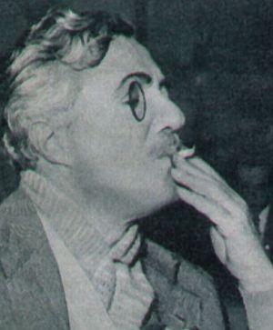 Revue, November 1955, Nr. 5, S. 24, Vittorio de Sica, Im Zeichen der Venus (Retro)