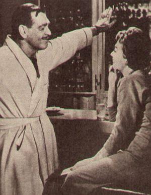 Film und Frau 1960, 3. Quartal, Heft 19, Seite 22, Clark Gable, Lilli Palmer, Bei mir nicht (Retro)