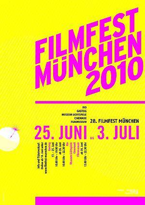 Postermotiv des Filmfest München 2010