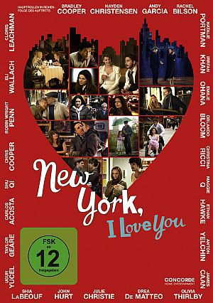 New York, I Love You (DVD) 2008