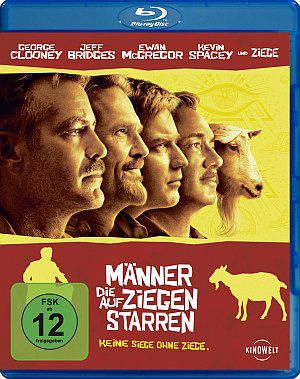 Männer, die auf Ziegen starren (Blu-ray) 2009