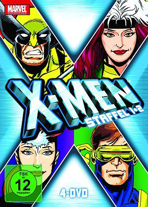 X-Men - Staffel 1+2 (DVD) 1992