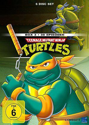 Teenage Mutant Ninja Turtles (Box 3) (DVD) 1987