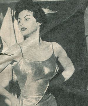 Film Revue, 19. März 1957, Jahrgang 11, Nr.7, S. 40,41, Die Unschuld vom Lande, Nadja Regin (retro)