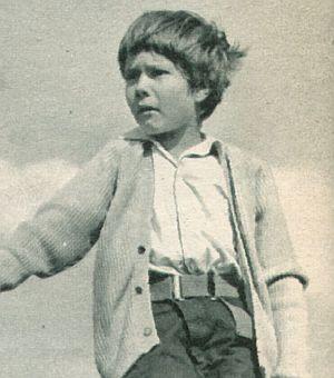 Film Revue, 16. Oktober 1956, Jahrgang 10, Nr.22, S. 30, Oliver Grimm, Kleiner Mann - ganz groß (Retro)