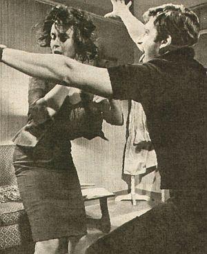 Film Revue, 12. März 1959, Nr.1, S. 9, Claire Bloom, Corey Allen, Der Chapman-Report (Retro)