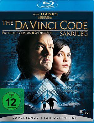The Da Vinci Code - Sakrileg - Extended Version - 2-Disc-Set (Thrill Edition) (Blu-ray) 2006