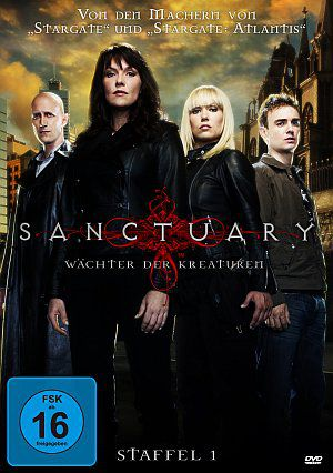 Sanctuary - Wächter der Kreaturen, Staffel 1 (DVD) 2008